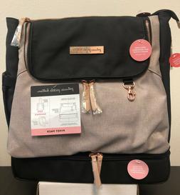 Petunia Pickle Bottom Pivot Baby Diaper Bag Backpack Sand/Bl