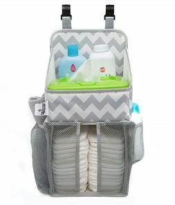 Diaper Caddy and Nursery Organizer for Newborn Baby Essentia