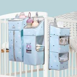 Portable Baby Crib Organizer Bed Hanging Bag For Baby Essent