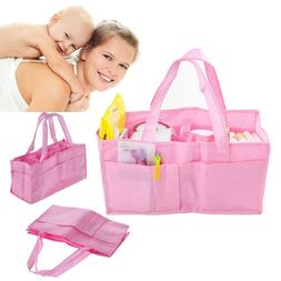 Portable Baby Diaper Nappy Changing Bag Organizer Insert Lin