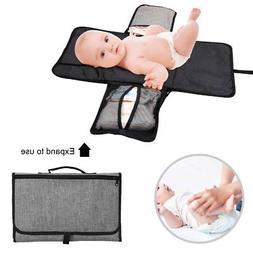 Portable Changing Pad Baby Diaper Station | Newborn Clutch B
