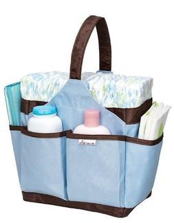 Munchkin Portable Diaper Caddy Blue