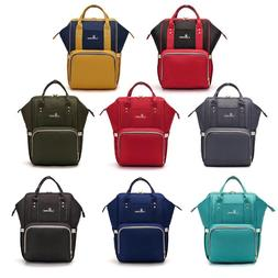 Portable Nappy Bag Large Capacity Waterproof Backpack Nursin