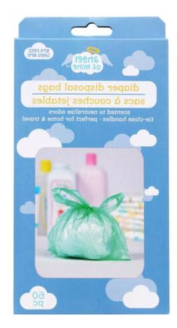 Baby Powder Scented Diaper Disposable Bags Odor Neutralizer