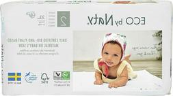 Eco by Naty Premium Disposable Baby Diapers for Sensitive Sk