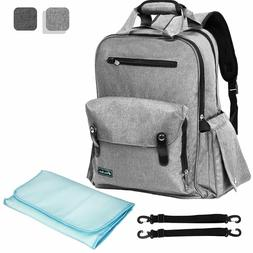 Premium Insulated Diaper Backpack Baby Bag | Multifunction N