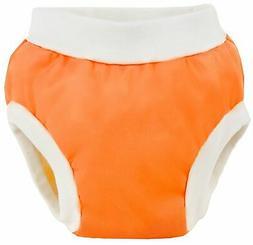 Kushies Baby PUL Training Pant, Orange, Medium