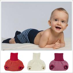 Pull On Diaper Cover for Baby Boys and Girls, 100% Organic M
