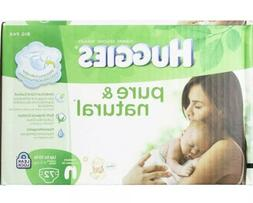 Huggies Pure and Natural Diapers Size NB 72 count Organic Co