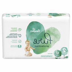 Pampers Pure Baby Size 2 Diapers Hypoallergenic Fragrance Fr