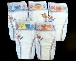 RARE Vintage 2009-11 Pampers Cruisers Dry Max Size 6 Sesame