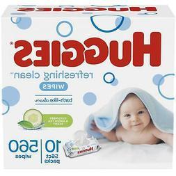 HUGGIES Refreshing Clean Scented Baby Wipes, Hypoallergenic,