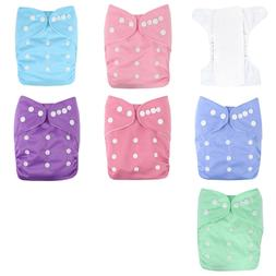 Reusable, Adjustable, Waterproof Soft Baby Cloth Pocket Diap