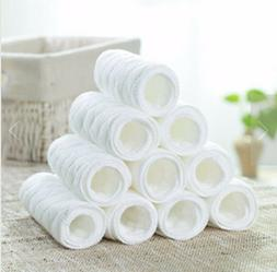 Reusable baby Diapers Cloth Diaper Inserts 1pcs100% Cotton