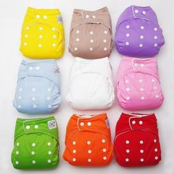 Reusable Baby Infant Nappy Cotton Cloth Diapers Soft Covers