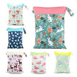 Reusable Cloth Snacks Bag Wetbag 30*40 CM Baby Small Diaper