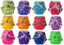 Kushies Reusable Cloth Swim Diaper Bottoms for Boys or Girls
