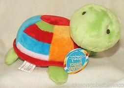 Stephan Baby Saucy Stripes Turtle Plush  NEW!