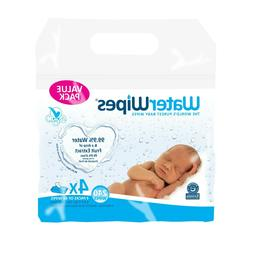 WaterWipes Sensitive Baby Wipes, Unscented, 240 Count  NEW
