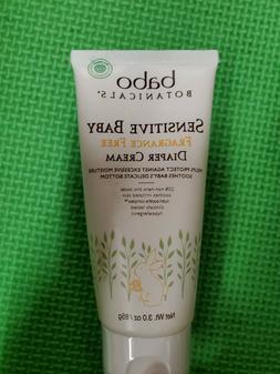Sensitive Baby Zinc Diaper Cream Babo Botanicals 3 oz Cream