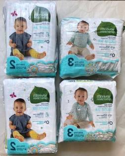 Seventh Generation Sensitive Skin Diaper 2 Sets Of Size 2 An