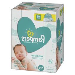 Sensitive Water-Based Baby Diaper Wipes, 9 Refill Packs - Un