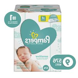 Sensitive Water-Based Baby Diaper Wipes,9Packs-576Count Hypo