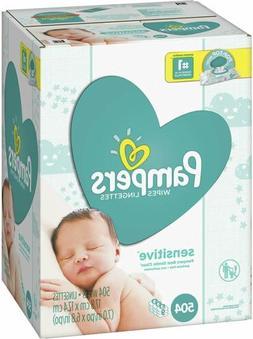 Pampers Sensitive Water-Based Baby Diaper Wipes, Hypoallerge