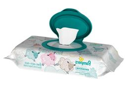Pampers Sensitive Wipes Travel Pack 56 Count,