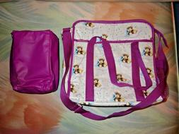 Set of 2 Ross Labs Similac Isomil Diaper Bag & Bottle Holder