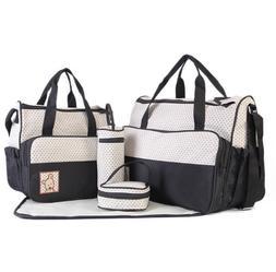 Set of 5 Baby Changing Diaper Nappy Bag Mummy Mother Handbag
