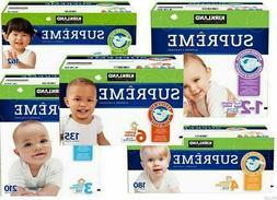 Kirkland Signature Supreme, Baby Diapers Size: 1 - 2, 3, 4,