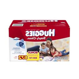 Huggies Simply Clean Fragrance Free Baby Wipes Refill, 672 C