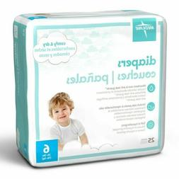 Medline Size 6  Diapers 35+ lbs 6 packs 150 Diapers