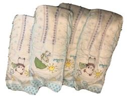 Pampers Size 8 UK Baby Dry Diapers Sample package of 4 Plus