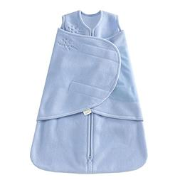 Halo Sleepsack Micro-Fleece Swaddle Baby Blue Preemie Strong