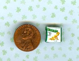 SMALLER 1/2 Half Inch Scale Dollhouse Miniature Baby Diapers