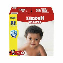 Huggies Snug & Dry 222 Count Diapers Size 3 - 36541