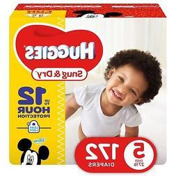 HUGGIES Snug & Dry Baby Diapers, Size 5 , 172 Count (Packagi