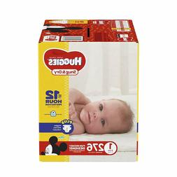 HUGGIES Snug & Dry Diapers, Size 1- 6, 140 - 276 Count