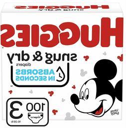 Huggies Snug & Dry Diapers Super Pack 100 Count 16-28 Absorb