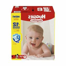 Huggies Snug and Dry Disposable Baby Diapers 246 COUNT Size