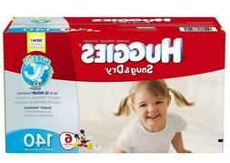 HUGGIES Snug & Dry Disposable Diapers Size 6  *Free 2 day sh