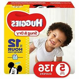 HUGGIES Snug & Dry Diapers, Giant Pack,
