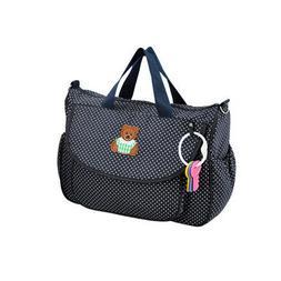 Soft Pure Cotton Baby Diaper Shoulder Bag Mummy Handbag with