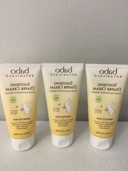Babo Botanicals Soothing Diaper Cream for Sensitive Skin, 3