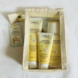 Babo Botanicals Soothing Diaper Cream Shampoo Lotion set Oat