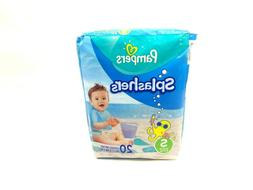 Pampers Splashers 20 Pack Small Disposable Swim Pants / Diap