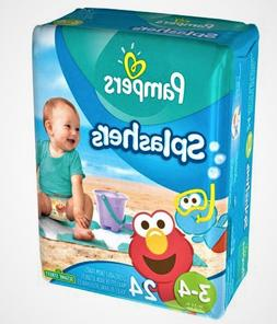 splashers disposable swim diapers size 3 4