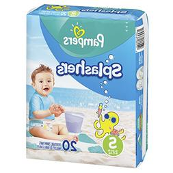 Pampers Splashers Swim Diapers Disposable Swim Pants, Small,